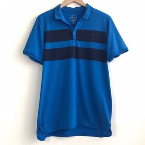 NIKE Dri-Fit Polo with Chest Stripe